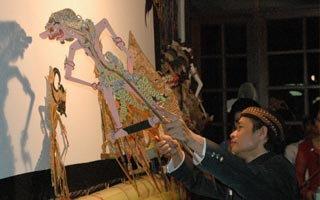 Shadow Puppetry and Gamelan
