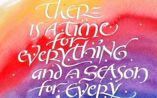 Timothy R. Botts – Expressive Calligraphy Exhibit